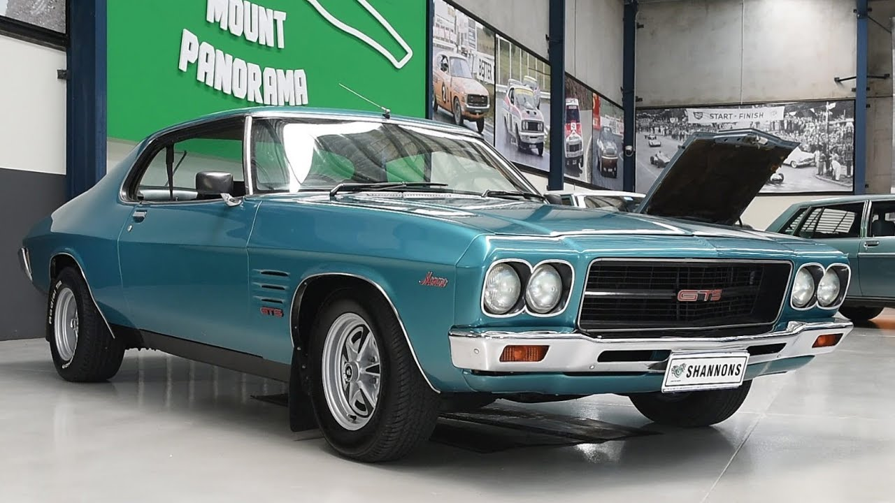 1974 Holden HQ GTS 308 Monaro Coupe - 2018 Shannons Melbourne Late Summer Classic Auction