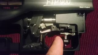 Air Arms FTP900 Trigger in action