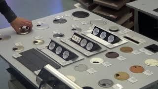 Обзор продукции GTV: полки под клавиатуру, заглушки для кабель-каналов, выдвижные розетки
