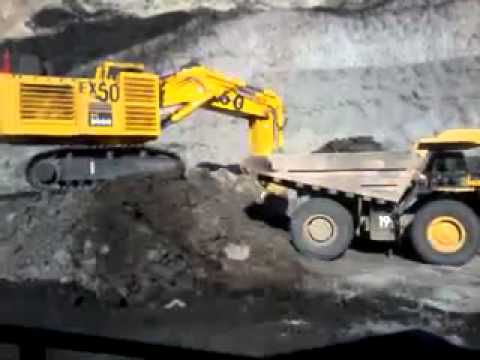 Loading of coal @semirara mining