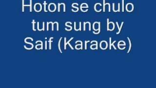 Hoton se chulo tum Karaoke