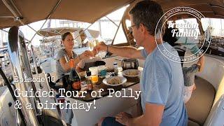 10. I Yacht Tour & A Birthday I Freedom Sailing