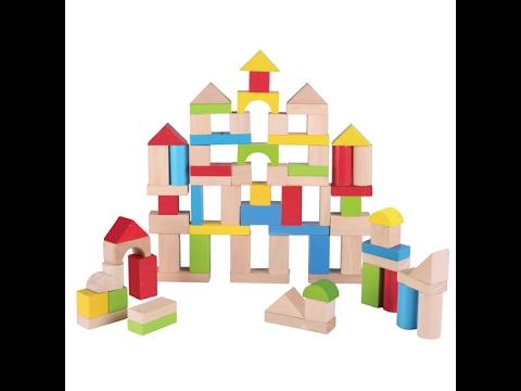 Playskool Color Natural Building Blocks