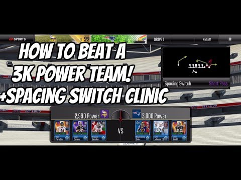 HOW TO BEAT A 3k POWER TEAM! PLUS A SPACING SWITCH CLINIC!
