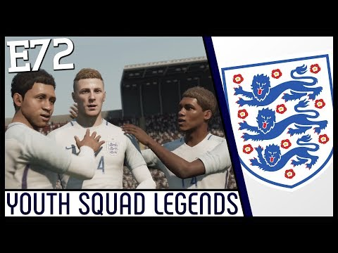 MANAGING ENGLAND! - Lincoln City | FIFA 18 Career Mode (Ep 72) Youth Academy | YOUTH SQUAD LEGENDS