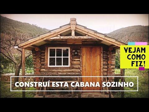 Construção Total De Uma Cabana De Troncos