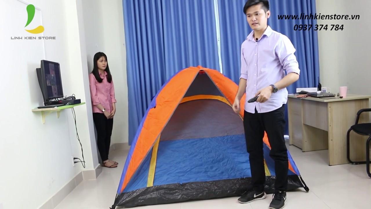Hướng Dẫn Cách Dựng Lều Cắm Trại, Lều Du Lịch, Lều Phượt  Cho 2 người, 4 người Đúng Cách Nhất !