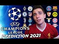 UEFA Champions League 2021 Round of 16 Prediction