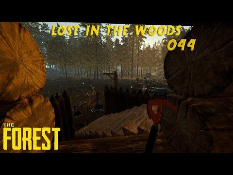 🌲 Lost in the Woods #044 🌲 - Über Fallen fallen [The Forest]