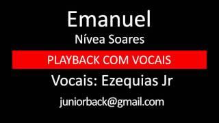Emanuel - Nívea Soares -  PB com vocais by Ezequias Jr.