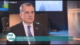 FM Jeyhun Bayramov gave an interview to TRT World on the sidelines of Antalya Diplomacy Forum