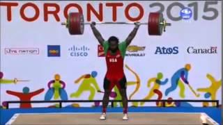 Pan American Games 2015  USA -94kg. Kendrick J Farris & Norik Vardanian