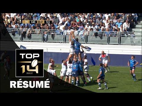 TOP 14 - Résumé Castres-Toulouse: 52-7 - J25 - Saison 2016/2017