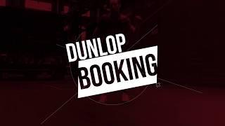 2018 Dunlop Squash Booking - Incentives
