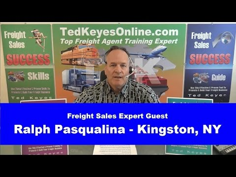 [TKO] ♦ Live Interview - Freight Sales Expert Guest - RALPH PASQUALINA ♦ TedKeyesOnline.com