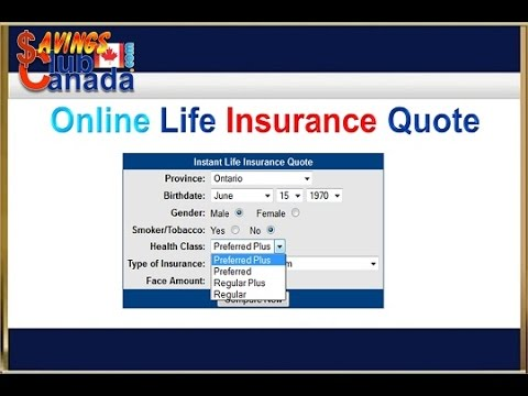 Online Life Insurance Quote 60 YouTube Awesome Instant Online Life Insurance Quote