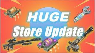 HUGE Store Update, Re-Perks & Perk-Ups / Fortnite Save the World