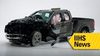 Only 1 pickup earns top safety rating - IIHS News(IIHS news release • April 12, 2016 Ford F-150 is the only pickup to earn top safety rating for small overlap protection RUCKERSVILLE, Va. — Three out of seven ..., 2016-04-12T04:00:01.000Z)