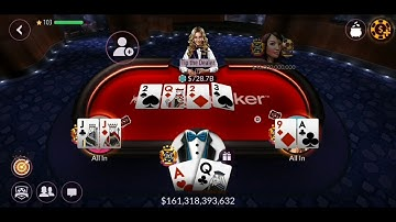 Zynga Poker TEXAS HOLDem WINNN 1T ♤♡◇♧ 1.100.000.000.000 B  TABLE 2.5 B 5B