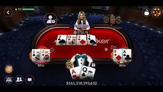 Zynga Poker TEXAS HOLDem WINNN 1T ♤♡◇♧ 1.100.000.000.000 B  TABLE 2.5 B 5B