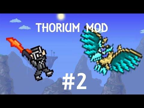 Nowy Miecz!! Terraria 1.3.2 Thorium Mode #2 PL