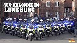 [VIP-ESKORTE STAATSPRÄSIDENT] Einsatz für hohen Staatsbesuch aus Lettland in Hansestadt Lüneburg