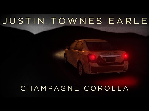 """Justin Townes Earle - """"Champagne Corolla"""" [Lyric Video]"""