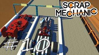 "Scrap Mechanic #10 ""Dragster vs. Formel 1 Race"" ★ Let's play HD deutsch"