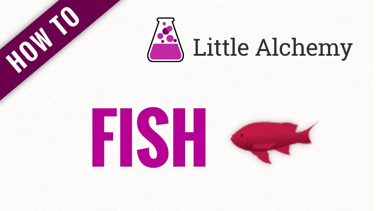 How To Make A Fish In Little Alchemy Youtube