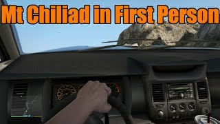 GTA 5 Xbox One/PS4 | Mt Chiliad First Person Climbing and Explosions!