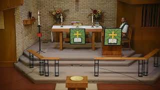 Part One - Traditional Worship - Sunday, November 8, 2020