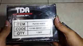Unboxing Cylinder Blok TDR 66mm Satria Fu