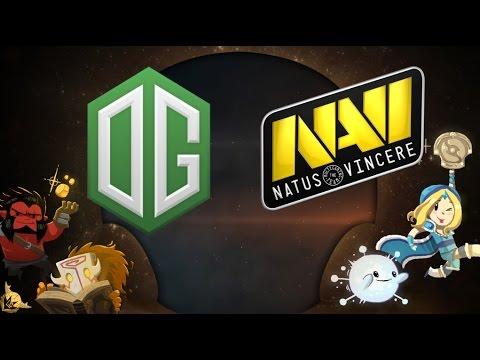 [ Dota2 ] Game 1 - OG vs NAVI (BO5) - Grand Final DreamLeague Season 5 LAN Final - Thai Caster