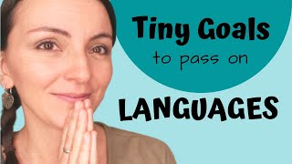 Tiny Goals for Passing on Languages   Goal Setting for Kids