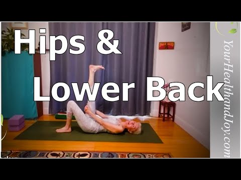 best hip and lower back stretches  patricia becker yoga