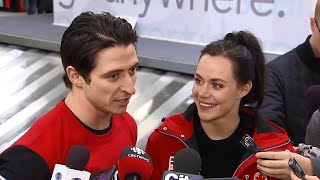 """""""We love working together"""" Virtue & Moir on what comes next for them"""