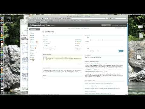 how to change navigation wordpress