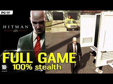 Hitman Blood Money (100% Stealth) FULL GAME Walkthrough /w Commentary