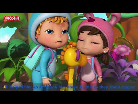 Jack and Jill in the Forest | English Rhymes for Children | Infobells