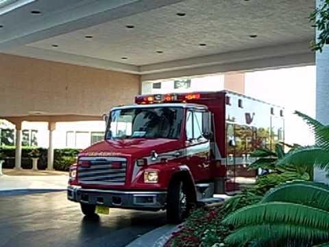 Palm Beach County Fire-Rescue Paramedic Rescue On Scene