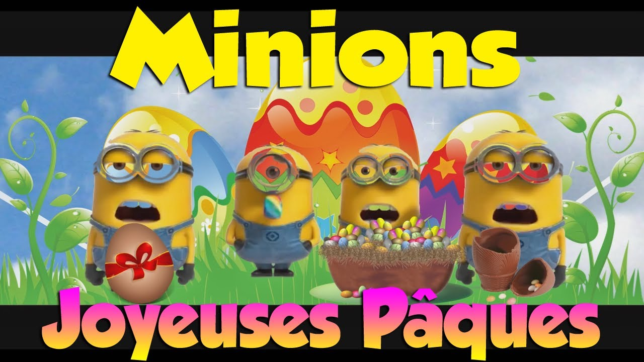 minions joyeuses p ques youtube. Black Bedroom Furniture Sets. Home Design Ideas