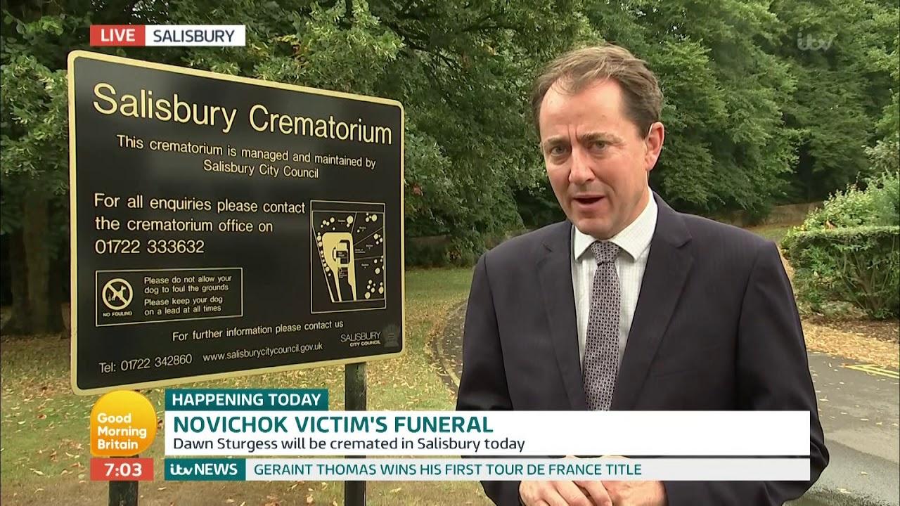 Novichok Victim's Funeral | Good Morning Britain