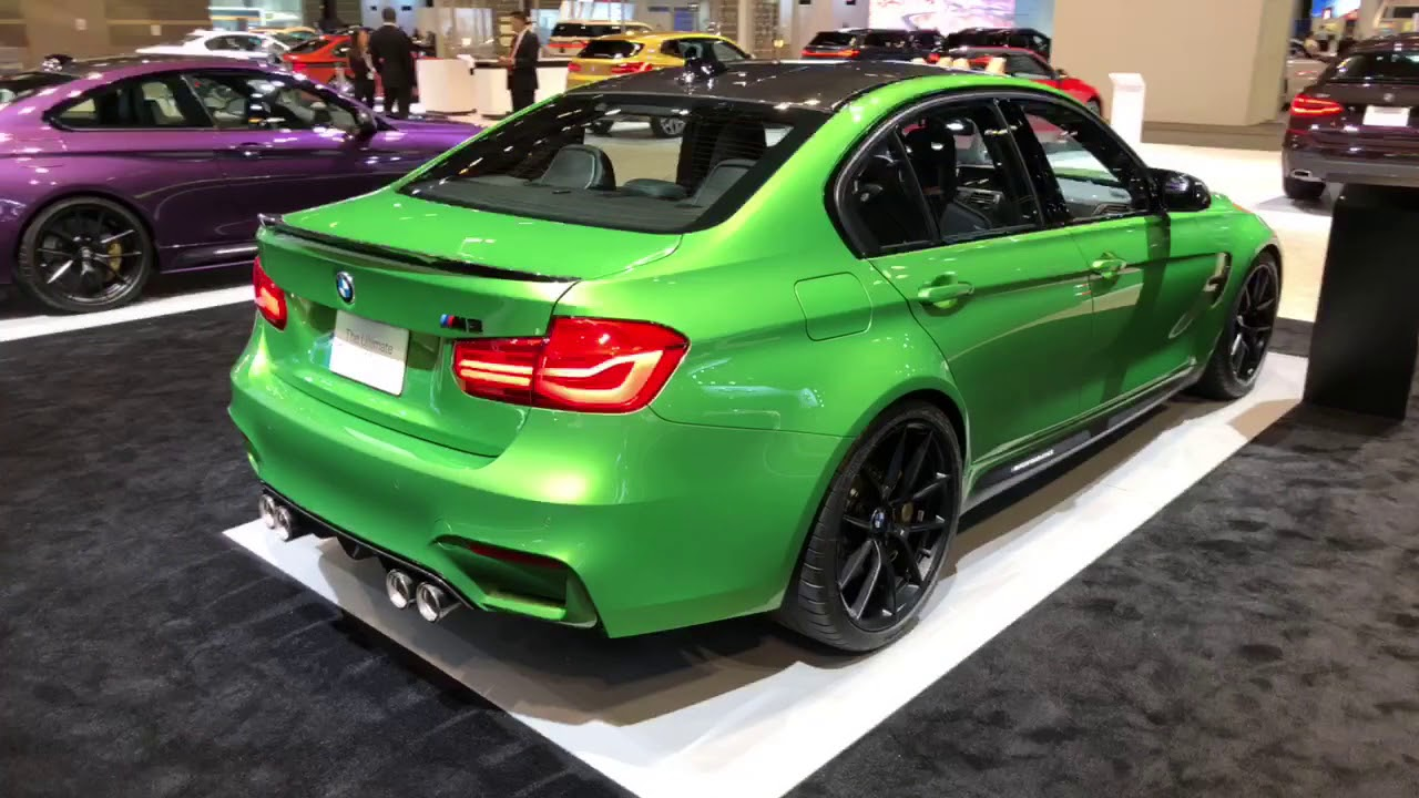 BMW M3 in the cool Java Green