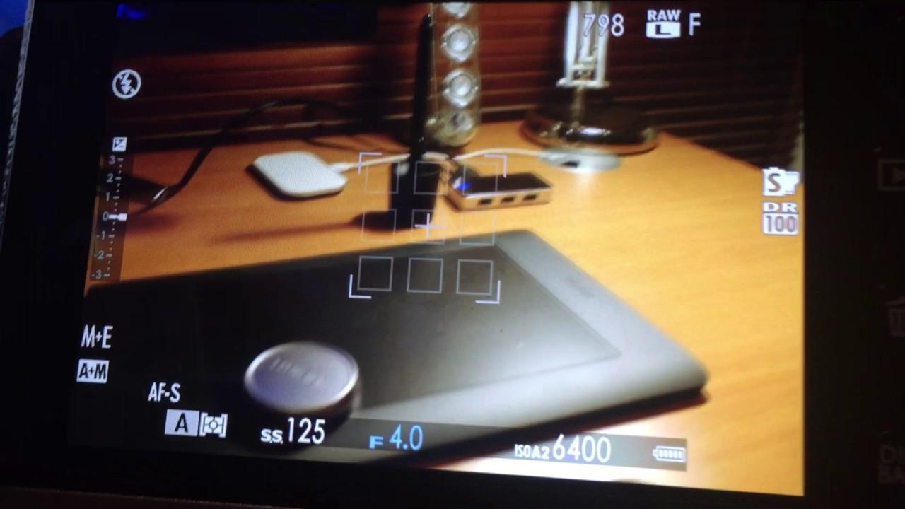 Fujifilm X100F - Test d\'autofocus en intérieur - Mode zone - YouTube