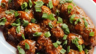 Veg Manchurian | Easy To Make Homemade Chinese Food | Easy Chinese Food Recipes | Kanak's Kitch