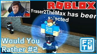 QUESTIONS, QUESTIONS, QUESTIONS!!! - Roblox Would You Rather #2