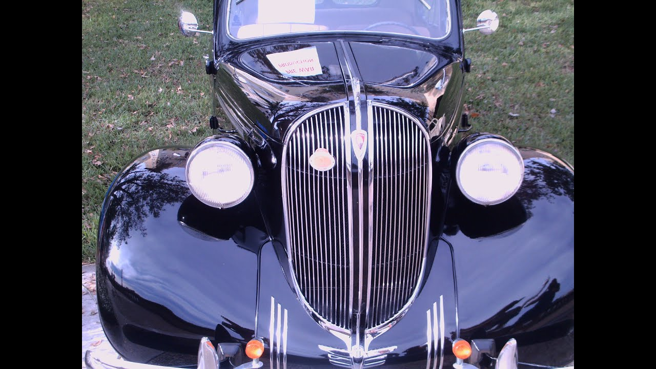 1938 Plymouth P6 Two Door Sedan Blk Youtube 1941 2 Dr Coupe