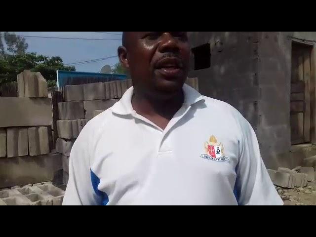 Construção do espaço das crianças orfãs na África parte 04