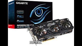 Майнинг  Видеокарта Radeon R9 270X  5 серия