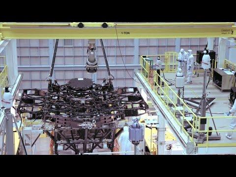 NASA | Webb Space Telescope Receives First Mirror Installation